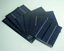 China factory high efficiency 2w 9v 136x110mm cheap small solar pv module, epoxy resin solar panel for toys/ led light/ charge