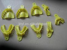 Denture Instrument Diaposable Plastic Impression Trays Perforated
