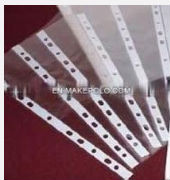 pocket clear sheet protectors in presentation folder