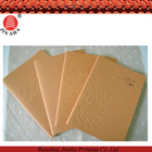 2014 high quality customized brown kraft cover paper notebooks