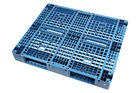 1200 x 1000 mm Plastic Pallets with 8 Iron Bars Inside