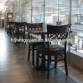 en bois massif de luxe salle à manger ensemble