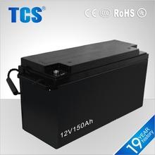 12V 150AH solar system AGM battery