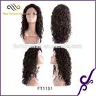 factory supply deep wave human hair u part wig instock