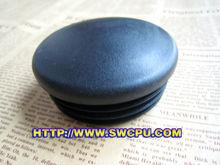 customize plastic round tube insert , end cap