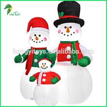 Guangzhou Hongyi Company Enjoy Good Reputation Christmas Decorative Inflatable Snowman