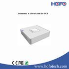 Economic 8channel mini cctv dvr support 2 USB2.0 and network