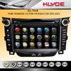 hyundai i30 car dvd gps navigation system with HD display bluetooth Ipod USB/SD Radio TV Rear camera