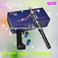 Forevertop vapor zone Q2 pump water electronic shisha pipe Q2 dry herb atomizer in alibaba