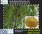 Hot Selling White Willow Bark Extract Salicin 25%