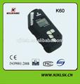 Tamaño pequeño fácil de la operación 3.0 vlithium batería pantalla lcd sensor de vibración portátil detector de explosivos
