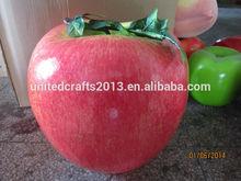 2014 New design christmas decoration foam Fake fruit super big Apple