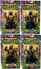 Teenage Mutant Ninja Turtles Action Figures ORIGINAL 1988 Set of 4