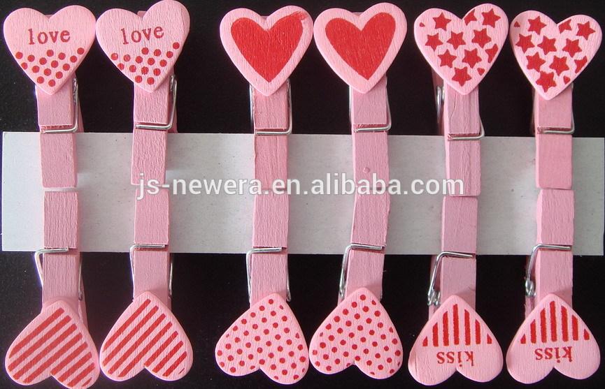 Heart Design Pink Red Craft
