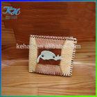 Handmade cute cartoon durable leather wallet for boys/teens/men cheap for wholesale