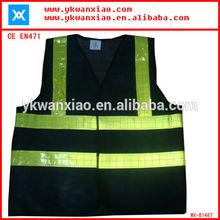 hi vis reflective portable black safety products,safety vest wholesale