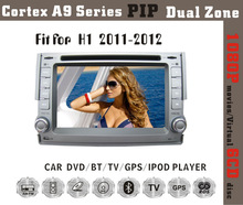 6.2inch HD 1080P BT TV GPS IPOD Fit for Hyundai H1/iload 2011 2012 double din car gps dvd