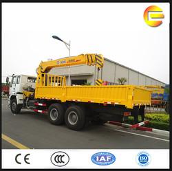 10 tons XCMG hydraulic lorry crane telescopic crane for sale