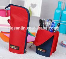 Fashion nelon waterproof folding pencil case
