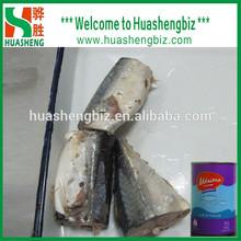 2014 salt fish mackerel/canned mackerel in brine