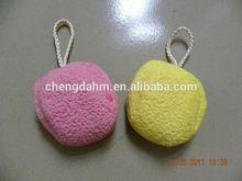 Factory direct sell bath sponge super quality pvc bucket mesh bath pad bath sponge