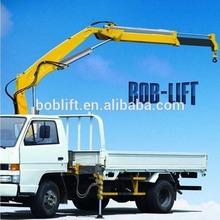 Knuckle boom hydraulic mobile lorry 2 ton mobile crane with CE certificate SQ2ZA1