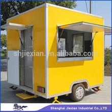2014 JX-FS250 Newstyle!!! Stainless Steel Stainless steel Food Van Food cart