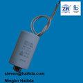 8uf componente eletrônico capacitor para o refrigerador do motor do ventilador
