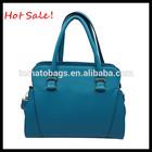 handmade very stylish zipper elegnace smile ladies tote bags satchel bag