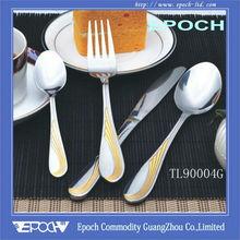 Professional kitchen knife set TL90004G wholesale