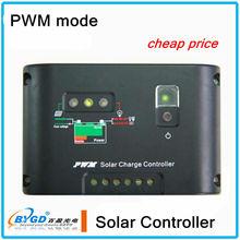 CE pwm 6a 12v solar street light automatic controller,solar panel controller