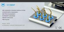 WSPK ultrasonic surgery periodontic dental kit for WOODPECKER MECTRON NSK SILFRADENT W&H DMETEC scaler handpiece.