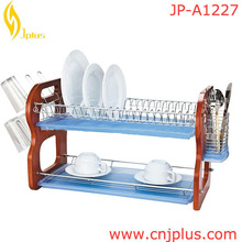 JP-A1227 Factory Oem Provide Plastic Green Tray Dish Rack Manufacturer In China