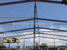 construction design steel structure warehouse from JBS-rocky mac