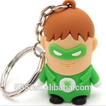 Cartoon style green lantern usb flash drive 1GB 2GB 4GB 8GB 16GB