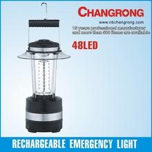 48pcs led emergency light rechargeable camping lantern