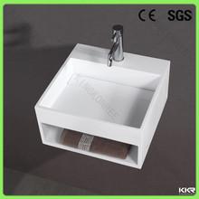 High end good quality modern design solid surface wash basin for hair salon