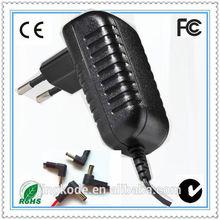 one year warranty!! EU US UK AU wall plug charger 17v 1a