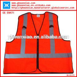 hi vis reflective portable adult safety products,safety vest wholesale