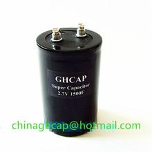Delivery fast 2.7v 1500f farad capacitor