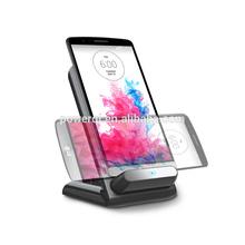 3 Coils qi wireless stand charging transmitter desktop 5V 1.5A online shopping