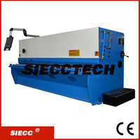 High Quality qc12y 8x3200 hydraulic shearing machine , 8mm metal sheet shearing machine ,8mm sheet metal cutter