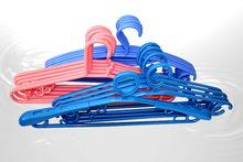 cloth rack hanger wholesales plastic hanger expandable household plastic clothes drying hanger