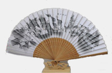 Chinese design wonderful fiber bamboo fan