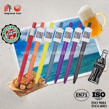 2014 cheap advertising advertising slogan pen
