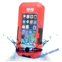Clip Waterproof Underwater Case for iPhone 4,waterproof plastic case for iphone 5, IPX8 20m Universal case strap