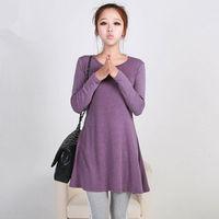 M80007B 2014 wholesale autumn fashion slim puffy bottom dresses