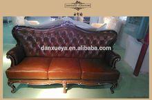 Indoor furniture leather sofa set 3 2 1 seat