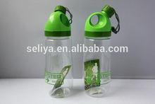 Top level best selling carabiner plastic water bottle
