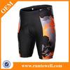 Runtowell bicycle shorts/bike short/padded bicycle shorts